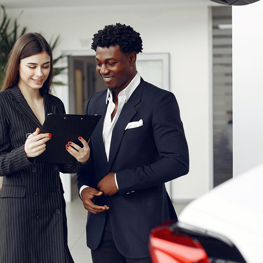 mystery shopping visit performed at car dealer