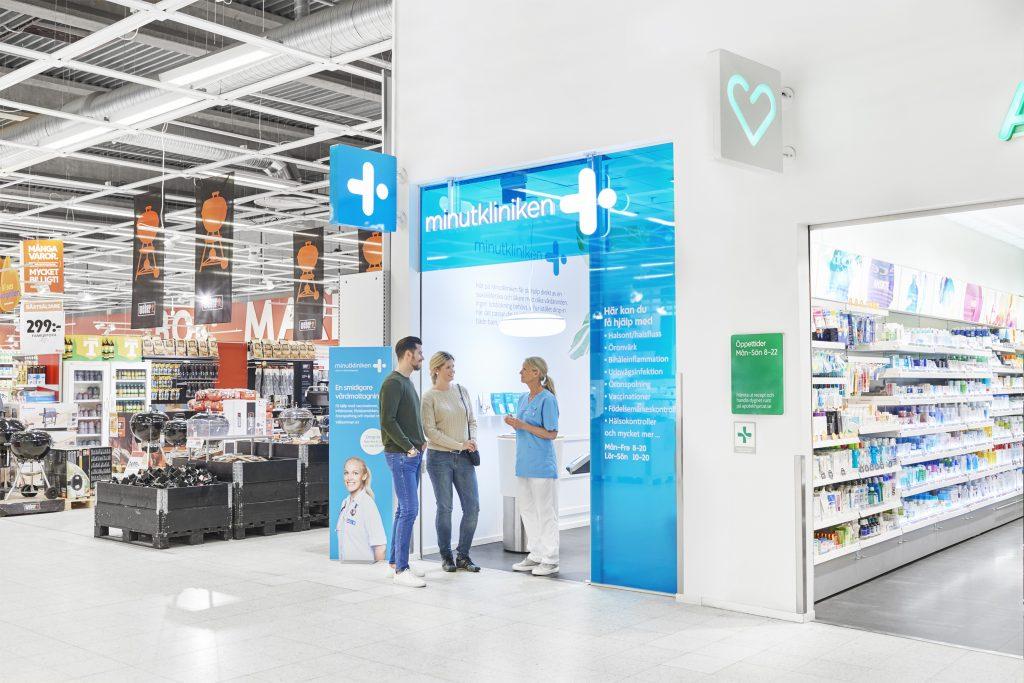 minutkliniken gives customer service